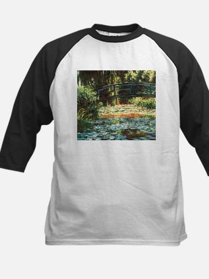 Claude Monet, Bridge Over Waterlily Pond Tee