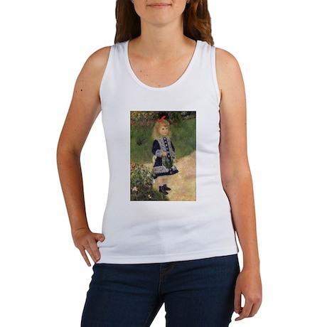Renoir Girl w Watering Can Women's Tank Top