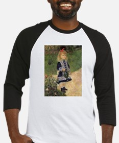 Renoir Girl w Watering Can Baseball Jersey