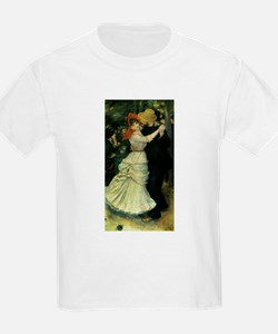 Dance at Bougival by Renoir T-Shirt