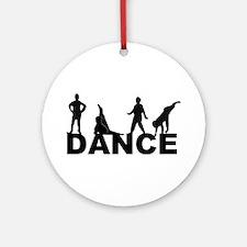 Zack Dance Ornament (Round)