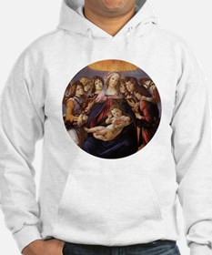 Madonna and Child by Botticelli Hoodie