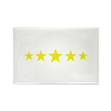5 star deluxe five Rectangle Magnet (100 pack)