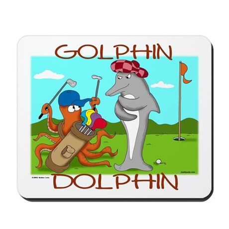 Golphin Dolphin Mousepad