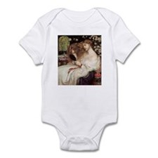 Lady Lilith by Dante Rossetti Infant Bodysuit