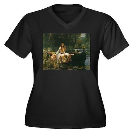 Lady of Shalott by JW Waterhouse Women's Plus Size
