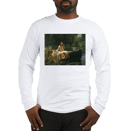 Lady of Shalott by JW Waterhouse Long Sleeve T-Shi