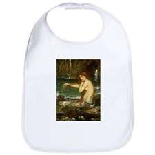 Mermaid by JW Waterhouse Bib