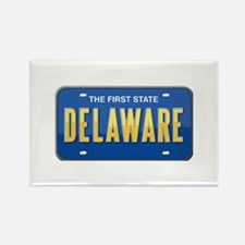 Delaware Rectangle Magnet