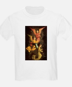 A Choir of Angels by Marmion T-Shirt
