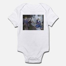 Annunciation by JW Waterhouse Infant Bodysuit