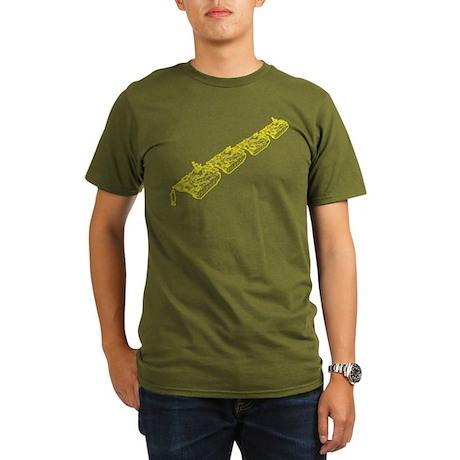 Tienanmen Tank Man Organic Men's T-Shirt (dark)