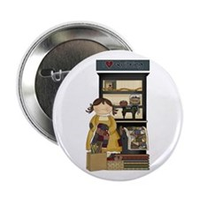 """Love Quilting 2.25"""" Button (10 pack)"""