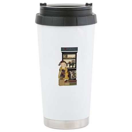 Love Quilting Stainless Steel Travel Mug