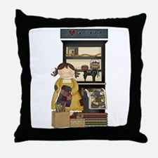Love Quilting Throw Pillow