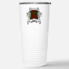 Kerr Tartan Shield Stainless Steel Travel Mug