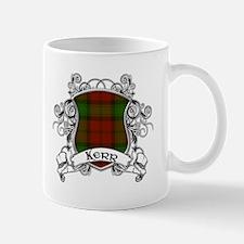 Kerr Tartan Shield Mug