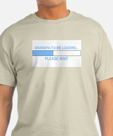GRANDPA-TO-BE LOADING... T-Shirt