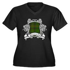 Kennedy Tart Women's Plus Size V-Neck Dark T-Shirt