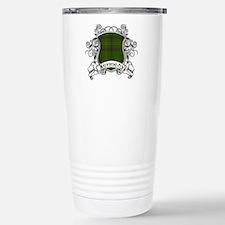Kennedy Tartan Shield Stainless Steel Travel Mug