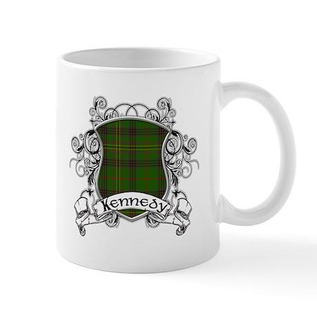 Kennedy Tartan Shield Mug