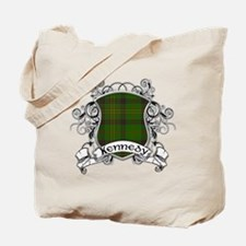 Kennedy Tartan Shield Tote Bag