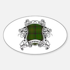 Kennedy Tartan Shield Decal