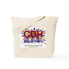 CDH Superhero Stars Logo for Boys Tote Bag
