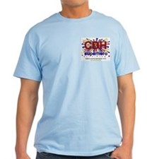 CDH Superhero Stars Logo for Boys T-Shirt