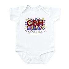 CDH Superhero Stars Logo for Boys Infant Bodysuit