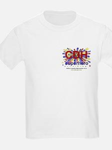 CDH Superhero Stars Logo for Boys T-Shirt