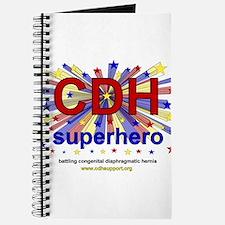 CDH Superhero Stars Logo for Boys Journal