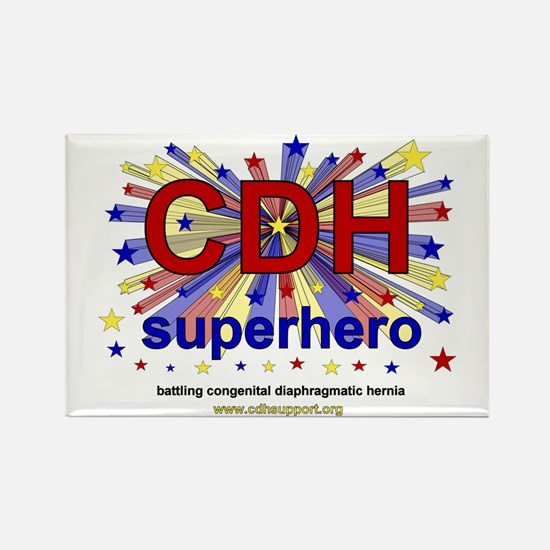 CDH Superhero Stars Logo for Boys Rectangle Magnet