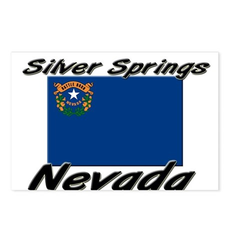 Silver Springs Nevada Postcards (Package of 8)