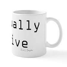 Textually Active Mug