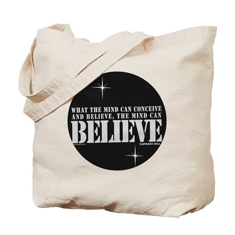 Napolean Hill Positive Saying Tote Bag
