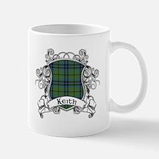 Keith Tartan Shield Mug