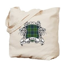 Keith Tartan Shield Tote Bag