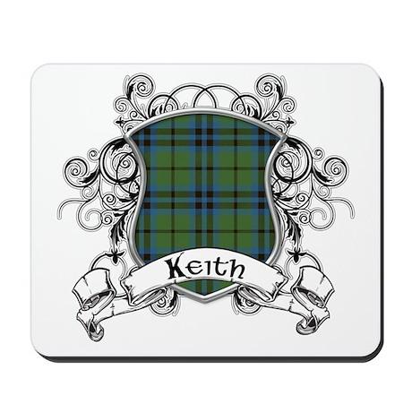 Keith Tartan Shield Mousepad