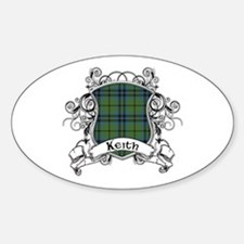 Keith Tartan Shield Decal