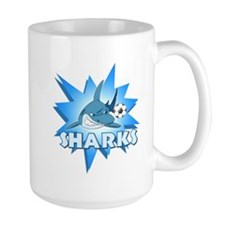 Sharks Soccer Team Mug