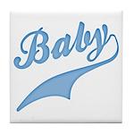 Blue Baby Swash Tile Coaster