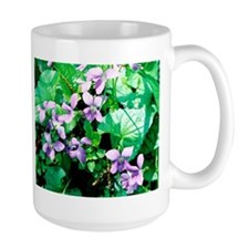 Violets - Mug