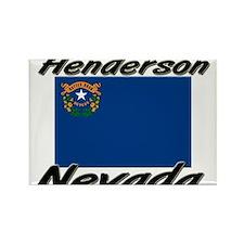Henderson Nevada Rectangle Magnet