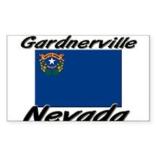 Gardnerville Nevada Rectangle Decal