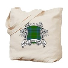 Johnston Tartan Shield Tote Bag