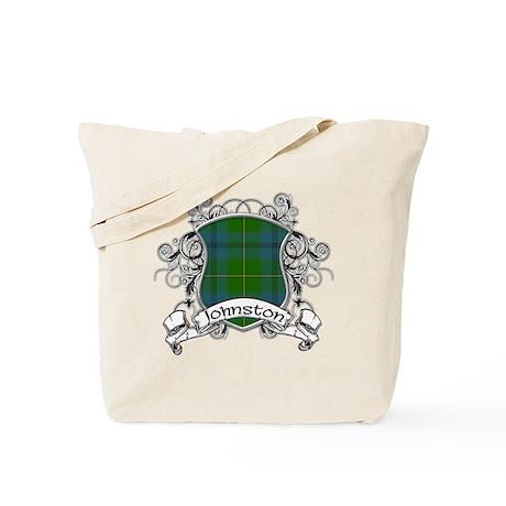 Johnston Tartan Shield Tote Bag