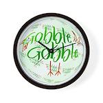 Gobble Gobble Wall Clock