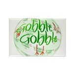 Gobble Gobble Rectangle Magnet (100 pack)