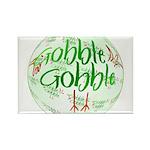 Gobble Gobble Rectangle Magnet